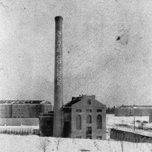 NCSU Smokestack and Yarborough Steam Plant