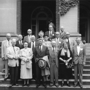 Alumni meeting, N.C. State College, May 1 and 2, 1953, class of 1903