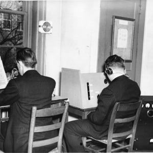 Early days of WKNC radio at North Carolina State College