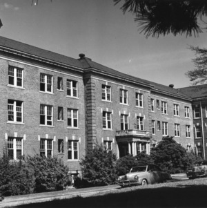 Syme Residence Hall, North Carolina State College