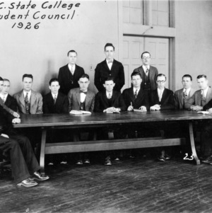 NC State College Student Council, 1926