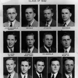 Eta Kapppa Nu members, class of 1942