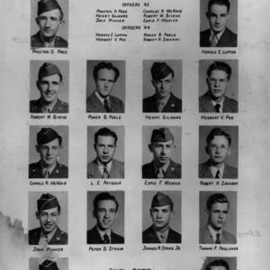 Eta Kappa Nu Honor Fraternity, class of 1944