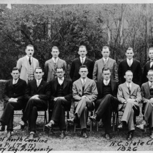 Alpha Tau Beta Pi honorary Engineering Fraternity, 1926