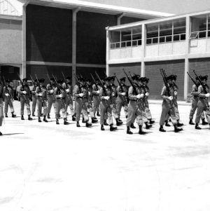 North Carolina State College's Pershing Rifles
