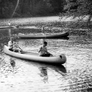 YMCA canoeing