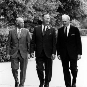 Paul Derr, Roy Clogston, and John T. Caldwell