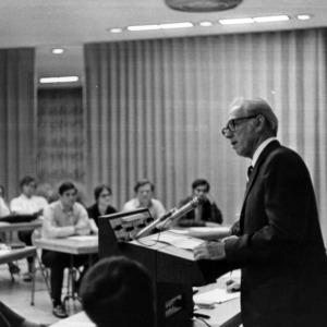 John T. Caldwell at Senate