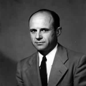 Dr. E. R. Barrick portrait