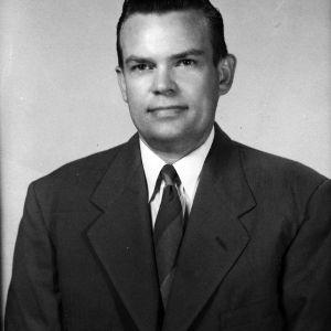 Professor T. N. Blumer portrait