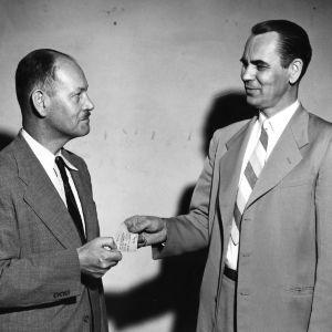 Harlan C. Brown and Walter J. Peterson