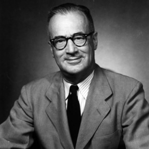 Dr. Roy S. Dearstyne portrait