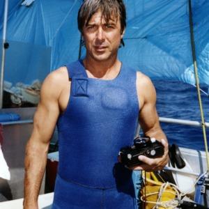 Mike deGruy on boat