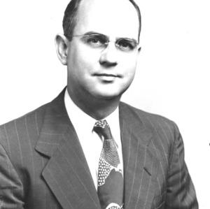 Dr. James W. Fitts portrait
