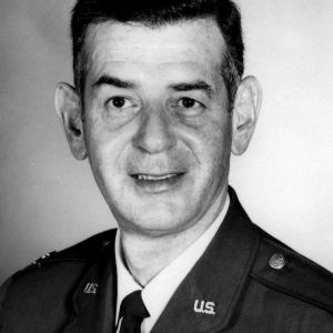 Colonel David F. First portrait