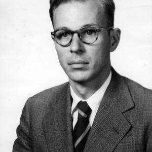 Dr. Arnold H. E. Grandage portrait