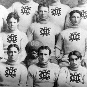 Oliver Max Gardner with 1902 football team