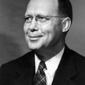 Professor W. N. Hicks portrait