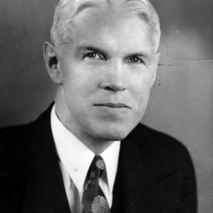 D. B. Hendry portrait