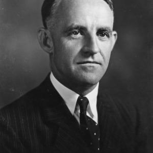 Dr. Frank P. Graham portrait