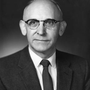 Dr. C. Horace Hamilton portrait