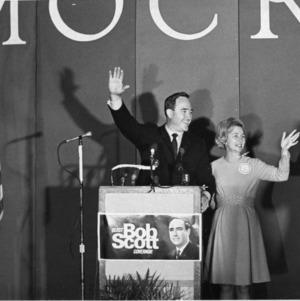 North Carolina Governor Bob Scott and wife Jessie Rae Scott