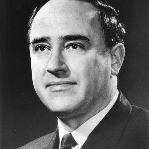 North Carolina Governor Robert W. Scott portrait