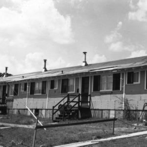 Row of Vetville houses