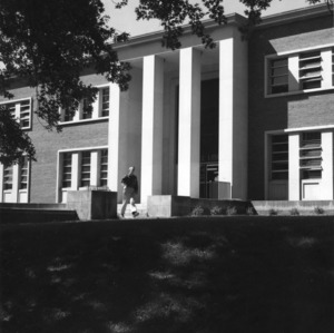 D. H. Hill Library, old entrance (now part of East Wing, D. H. Hill Library)