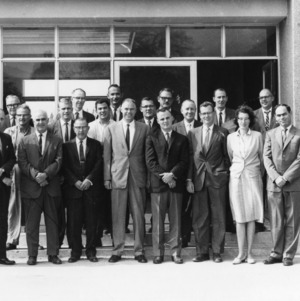 Group portrait of participants in North Carolina State College's Agricultural Mission to Peru, December 1963.