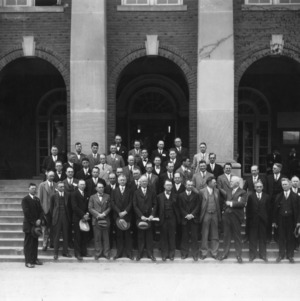 Group portrait taken at the 50th Anniversary of the Agricultural Experiment Station, April 10, 1927.
