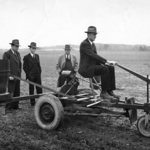 Extension agents with motorized seed sower