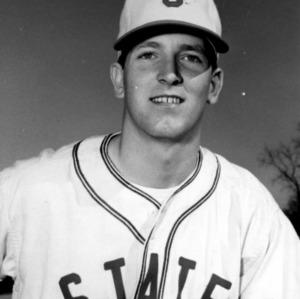N. C. State baseball player Vic Sorrel, Jr.