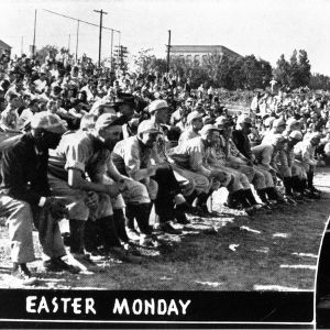N. C. State baseball game,  Easter Monday 1939