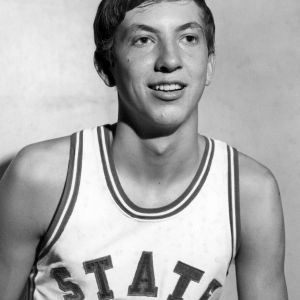 Basketball player Robert Larson portrait