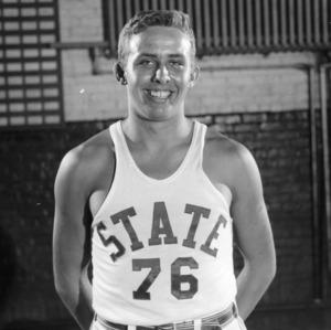 Center Mel Thompson (#76)