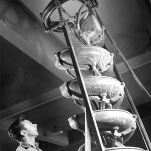North Carolina State College Minerals Research Laboratory in Asheville, N.C., 1960 April