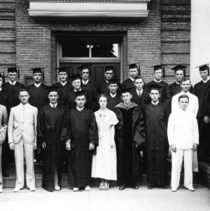 Graduating class of North Carolina State College Chemical Engineering Department, 1920s