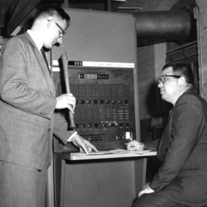 Digital computers and music programming with George Wyatt and Professor Korfhage, 1961 May 14.