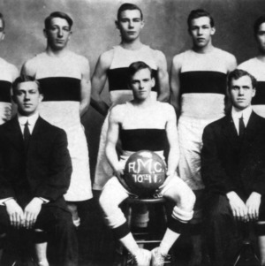 North Carolina State Agriculture and Mechanic Arts College basketball team, 1910- 1911