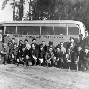Forestry school, 1941 March 5-6.