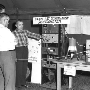 School of Engineering exhibit at 1957 NC State Fair