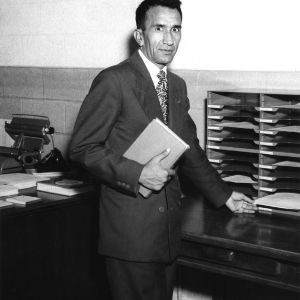 Fourth nuclear short course : Malik Mohammed Quraishee of Afghanistan, 1957.