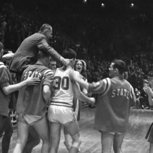 Coach Everett Case's last game