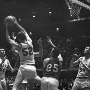 N. C. State basketball, 1955