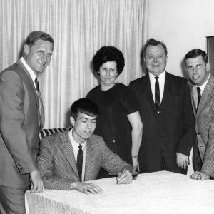 1970 signing of Mark Ballach to the freshman N. C. State basketball team