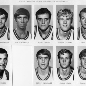1971-1972 N.C. State University basketball team