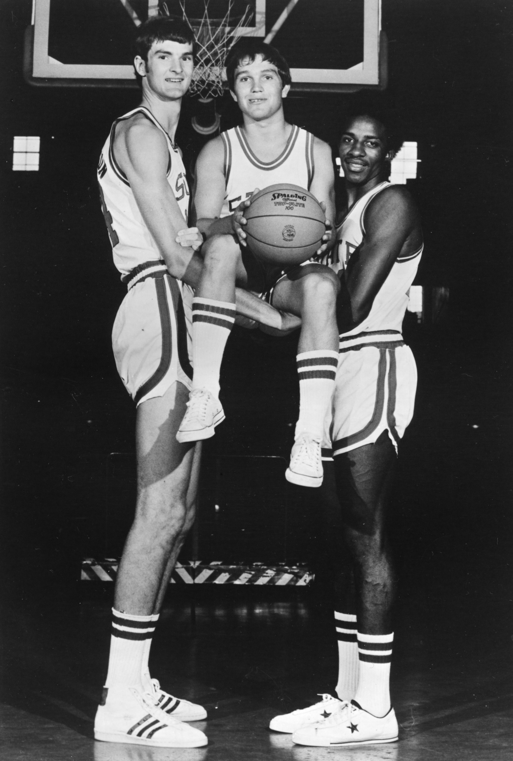 Basketball players at the 1974 NCAA Mens Division I Final Four