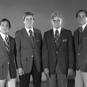 1978-1979 N.C. State basketball coaching staff