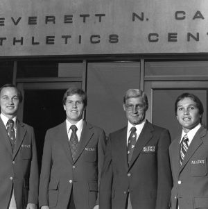 N.C. State University men's basketball coaching staff